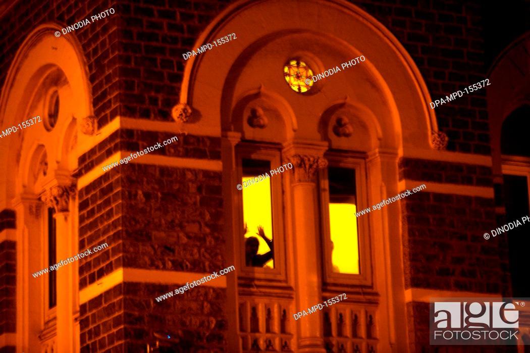 People inside Taj Mahal hotel during terrorist attack by