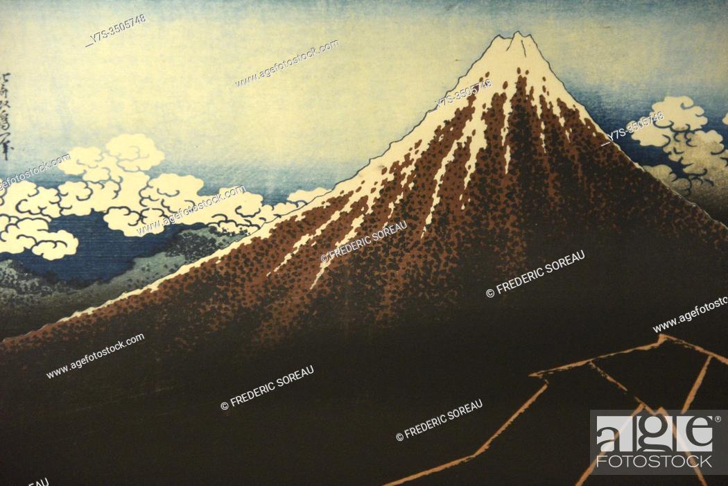 Stock Photo: Sumida Hokusai museum, Tokyo, Honshu island, Japan, Asia.