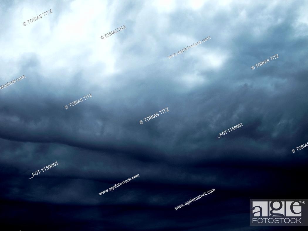 Stock Photo: Moody sky.