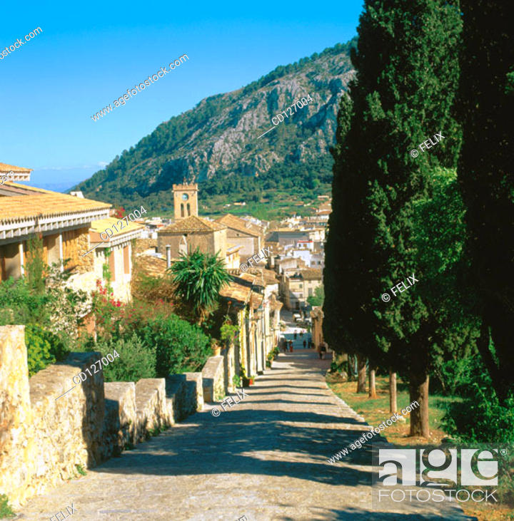 Stock Photo: Pollensa. Majorca. Balearic Islands. Spain.