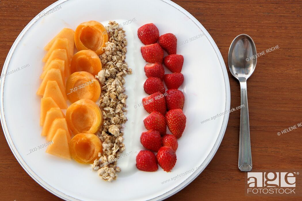 Stock Photo: Healthy breakfast.