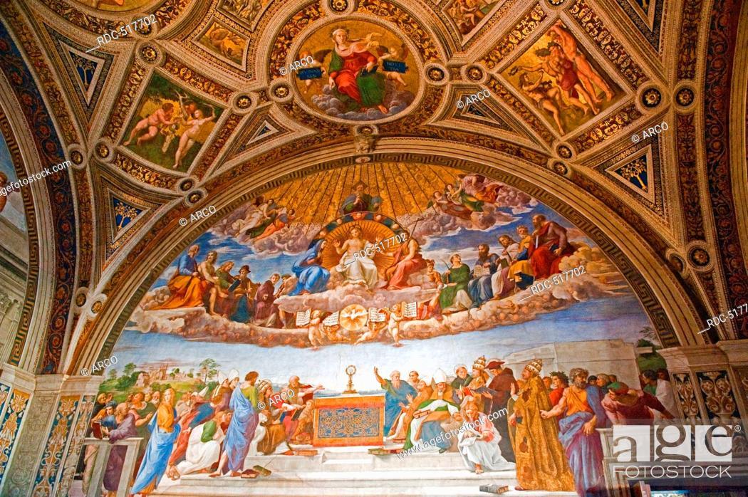 Raphael Stanza Della Segnatura Ceiling