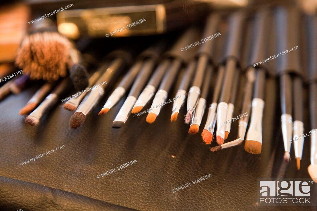 Imagen: Make-up brushes and Equipment.