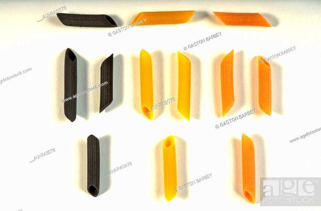 Stock Photo: Pasta - Pennes.