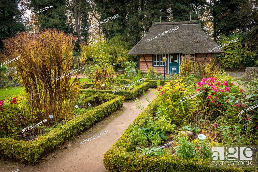 Hamburg Osdorf Botanical Garden Loki Schmidt Garten Of University