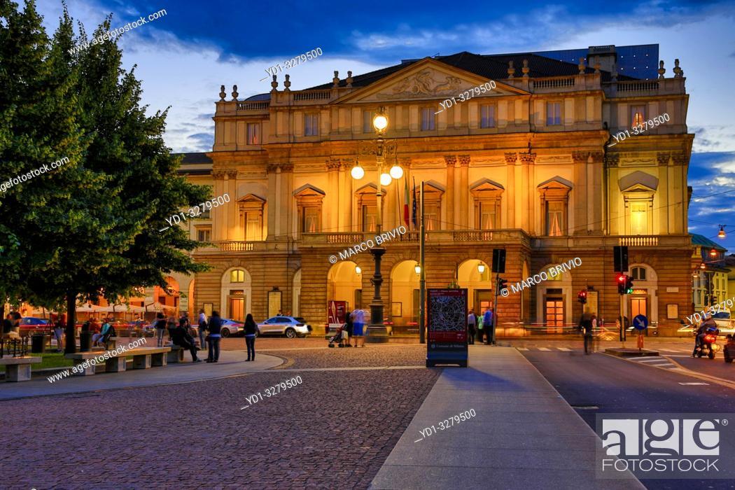 La Scala Official Name Teatro Alla Scala Is An Opera House