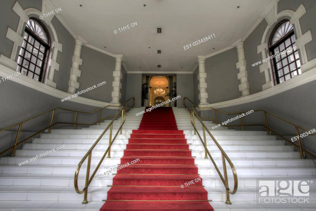 Stock Photo: Grand Entrance Staircase.