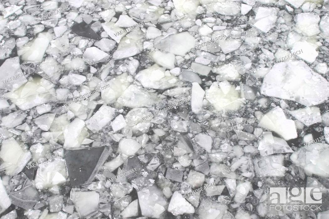 Stock Photo: gray, rocks, stones, pebbles, surface, texture.