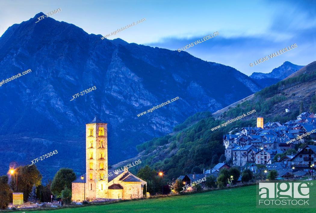 Imagen: Taüll. Boí valley. Lleida province. Catalonia. Spain.