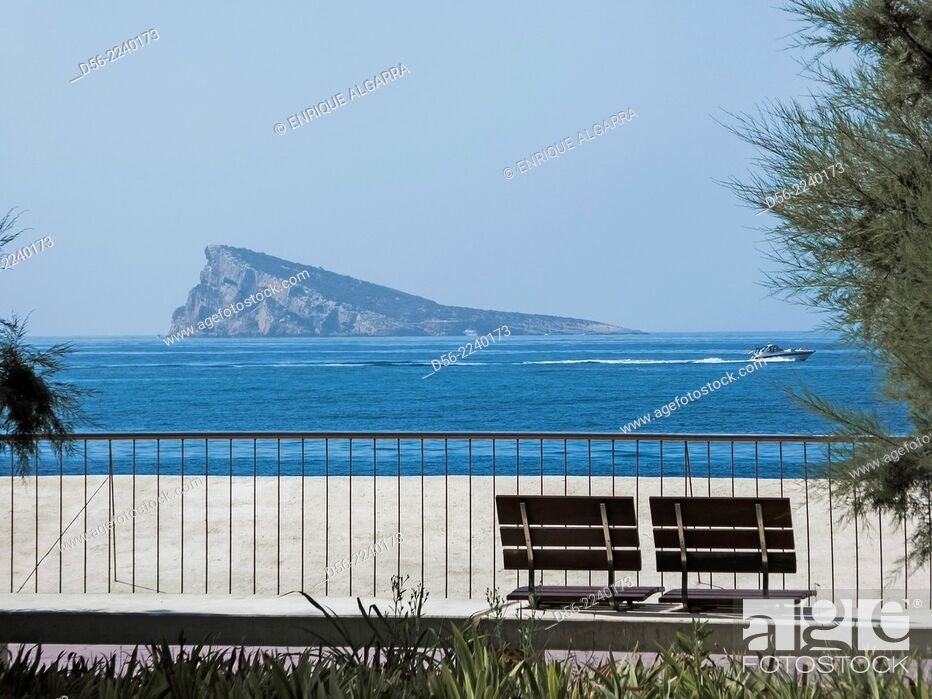 Imagen: Benidorm Island, Benidorm, Alicante province, Spain.