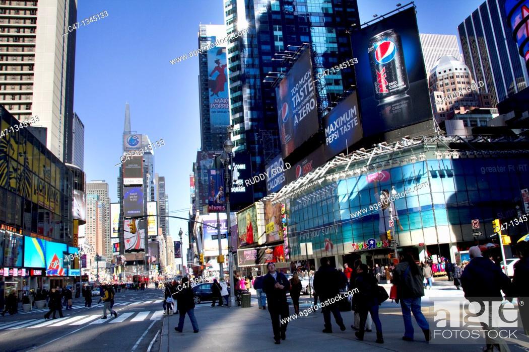 Stock Photo: Times Square, New York City, USA.