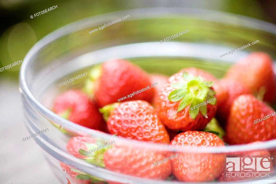 Stock Photo: Strawberry.