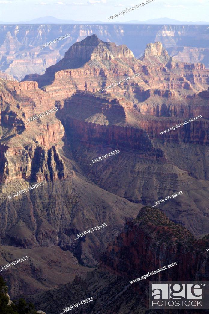 Usa Arizona Grand Canyon National Park North Rim Stock