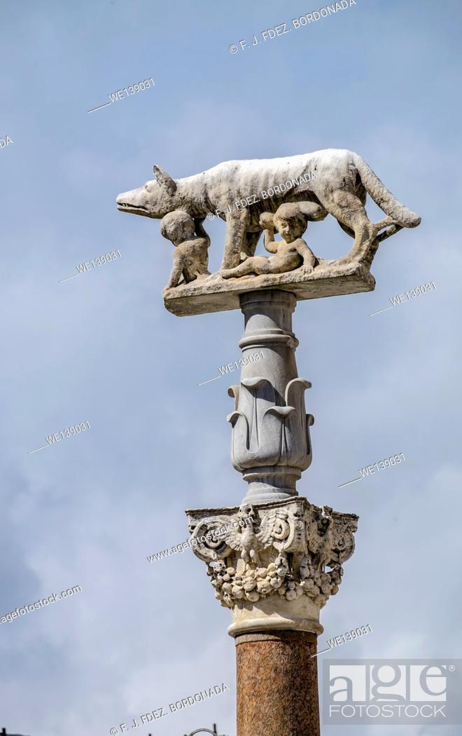 Stock Photo: Siena Cathedral, Tuscany, Italy.
