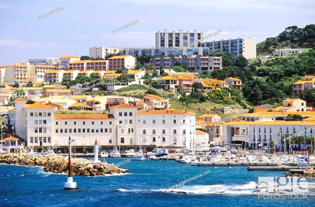 Stock Photo: France - Pyrenees Orientales - Banyuls sur mer.