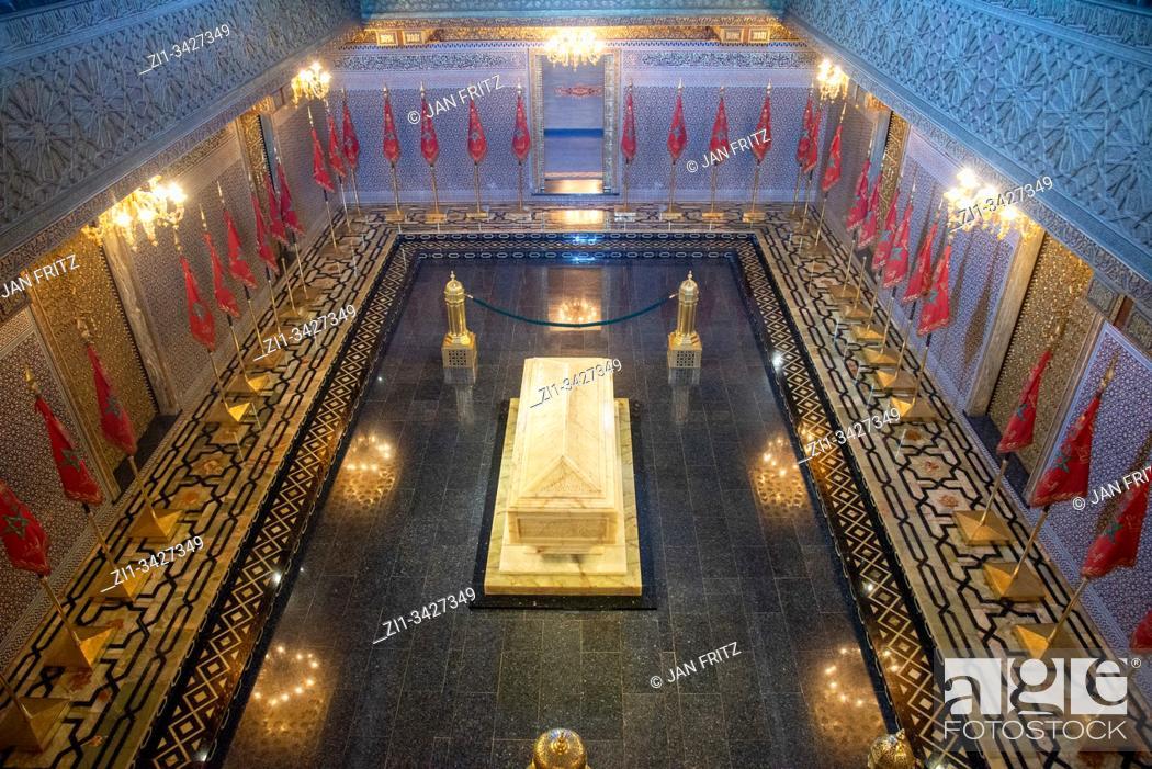 Photo de stock: mausoleum of Mohammed V in Rabat, Maroc.
