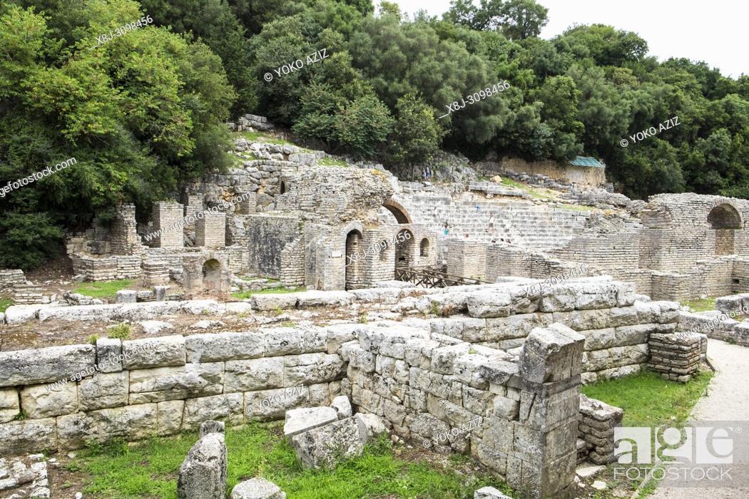 Imagen: Albania, Butrint archaeological site.