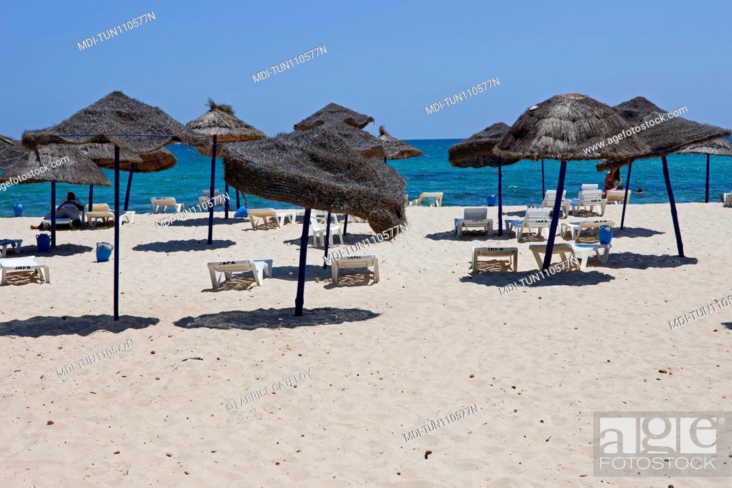 Imagen: Tunisia - Yasmine Hammamet - The beach.