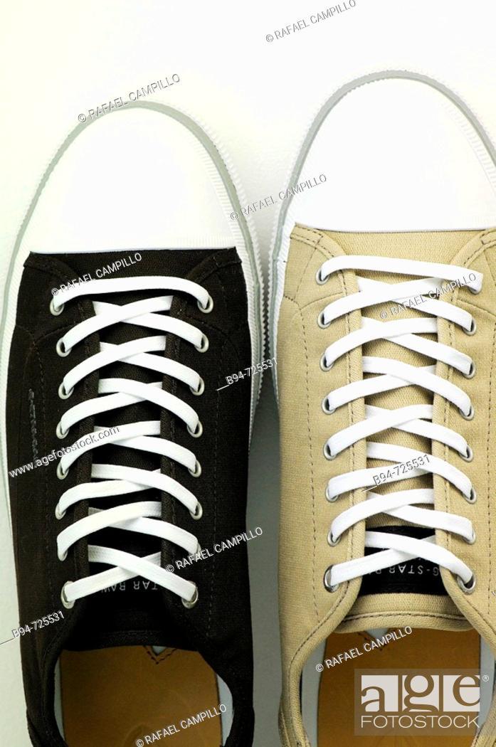Stock Photo: Sneakers.