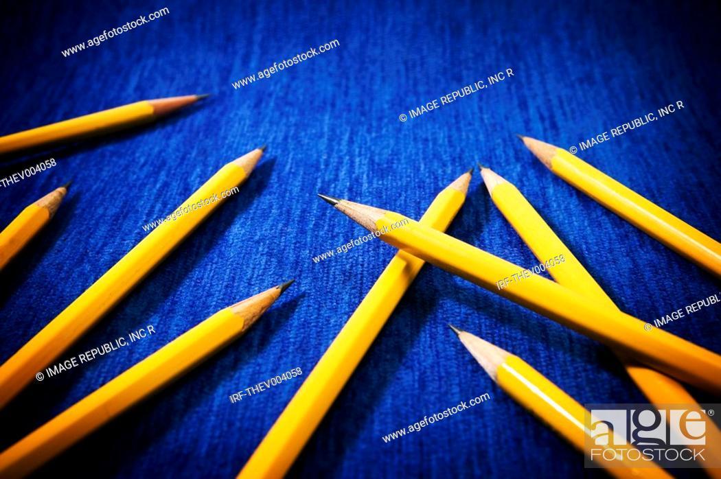 Stock Photo: pencils.