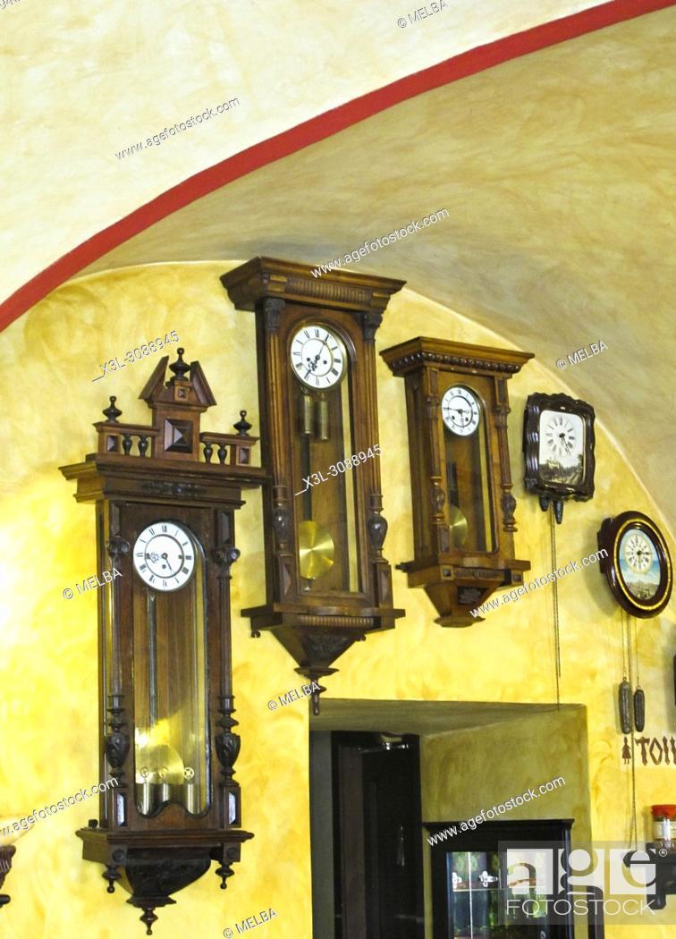 Stock Photo: Cafe of Prague. Czech Republic.
