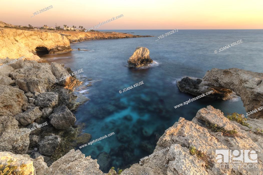 Stock Photo: Love Bridge, Agia Napa, Cyprus.