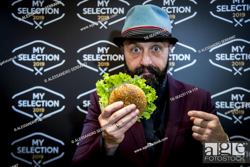 Imagen: The restaurateur Joe Bastianich during the presentation of the new 'My selection 2019' of Mc Donald's in Rome ,ITALY-26-11-2018.