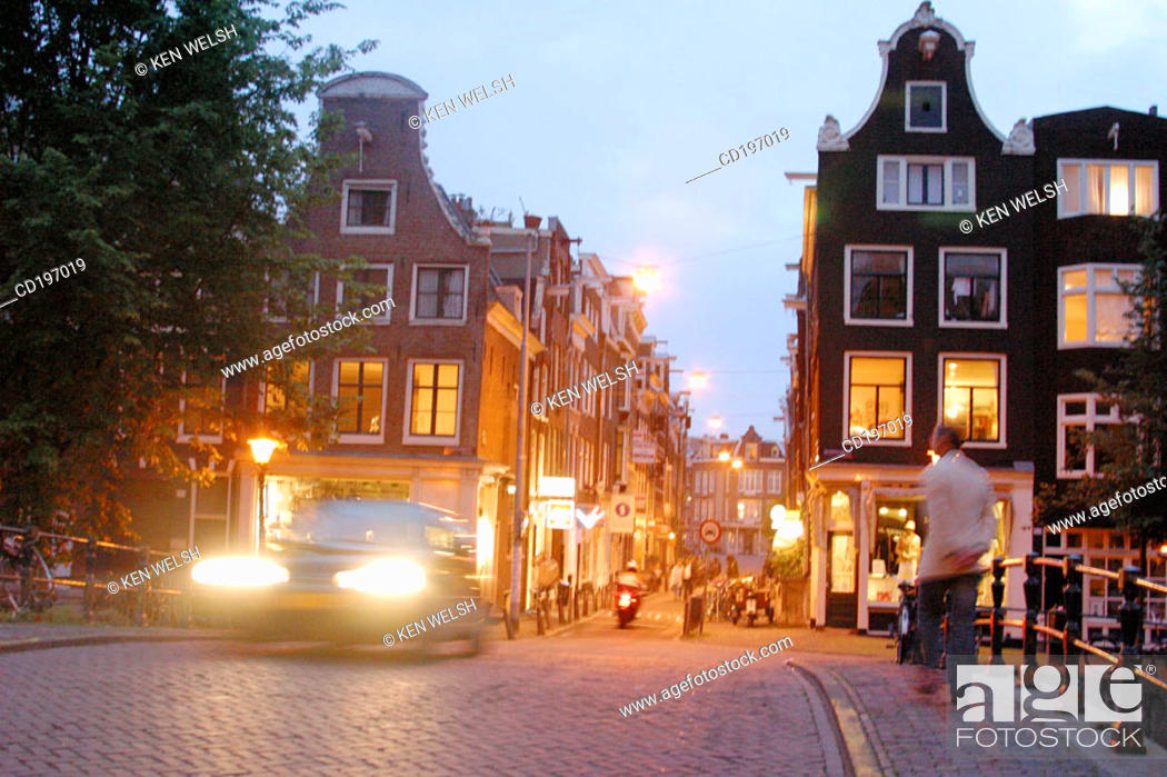 Stock Photo: Leidsestraat. Amsterdam. Holland.