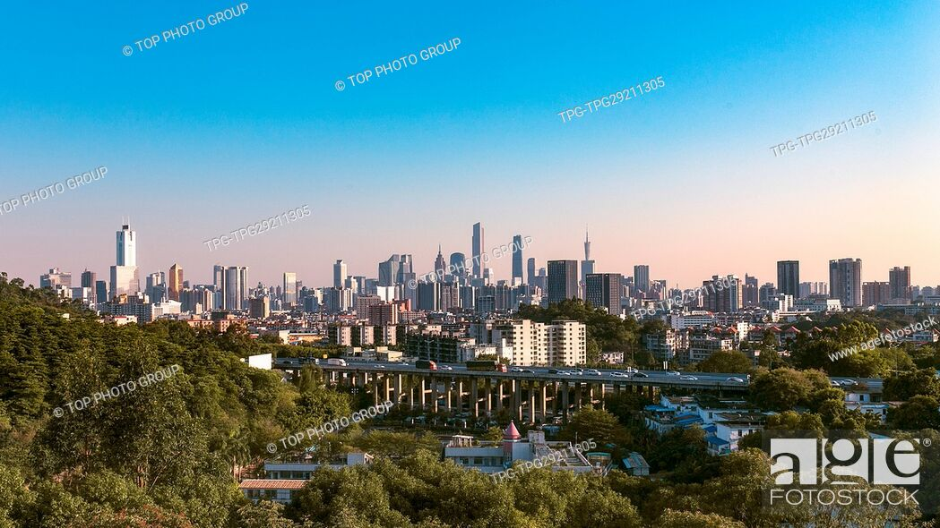 Stock Photo: urban area.