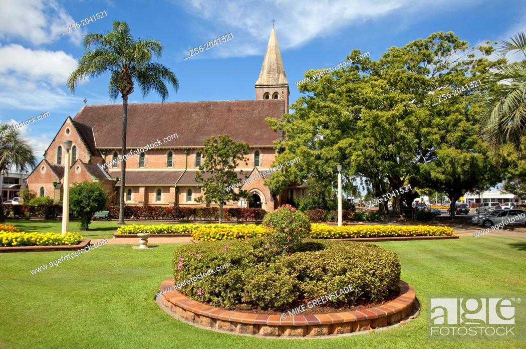 Imagen: Christ Church, Anglican Church, Bundaberg, Queensland, Australia.
