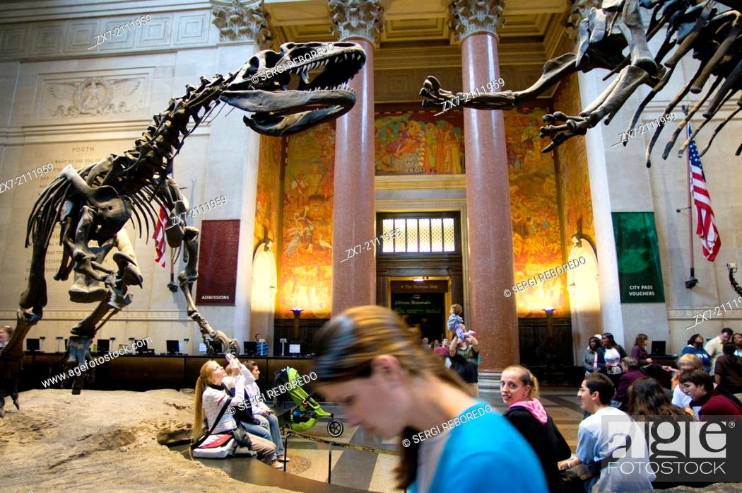 Stock Photo: American Museum of Natural History. Central Park West to 79th Street. Tel 212-769-5100. (Mon-Sun 10am-5: 45pm / closed during Christmas and Thanksgiving /.