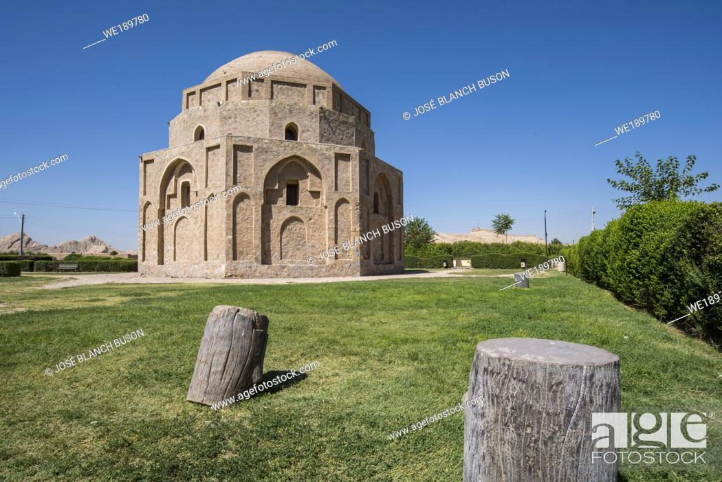 Stock Photo: Jabalieh dome at Kerman, Iran.