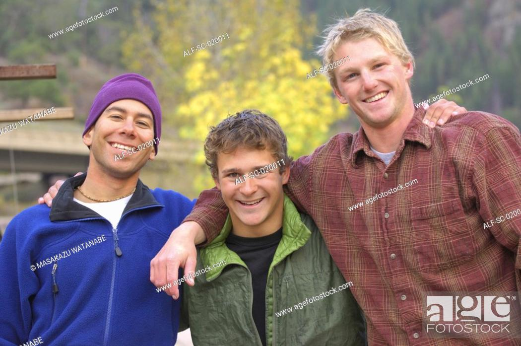 Stock Photo: Outdoor Friends.