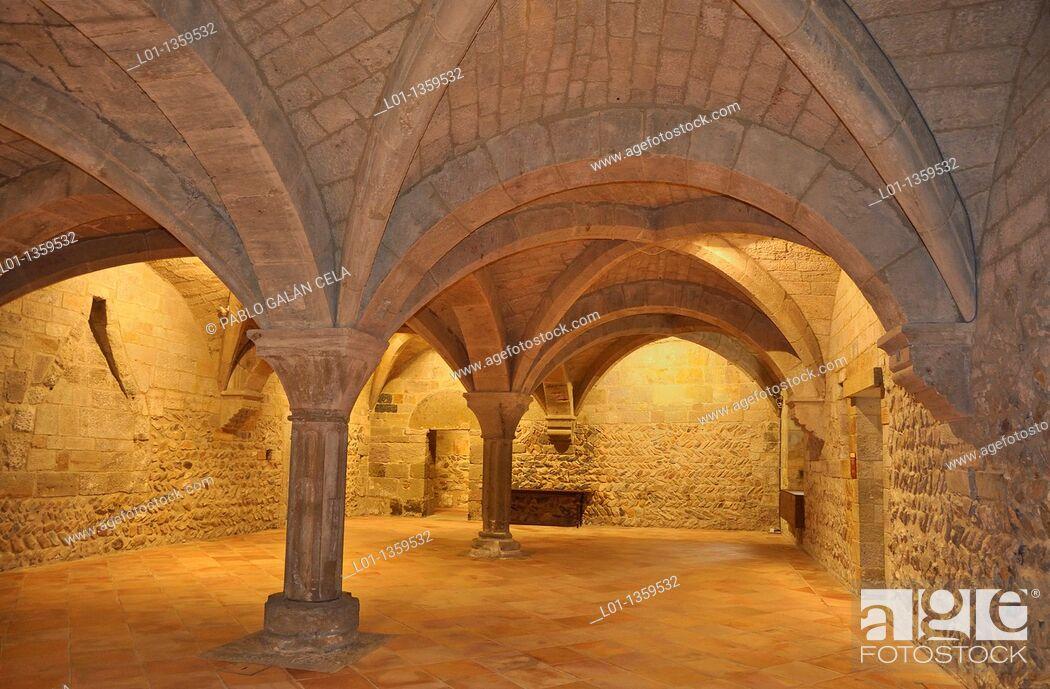 Stock Photo: Monasterio de Veruela, Zaragoza.