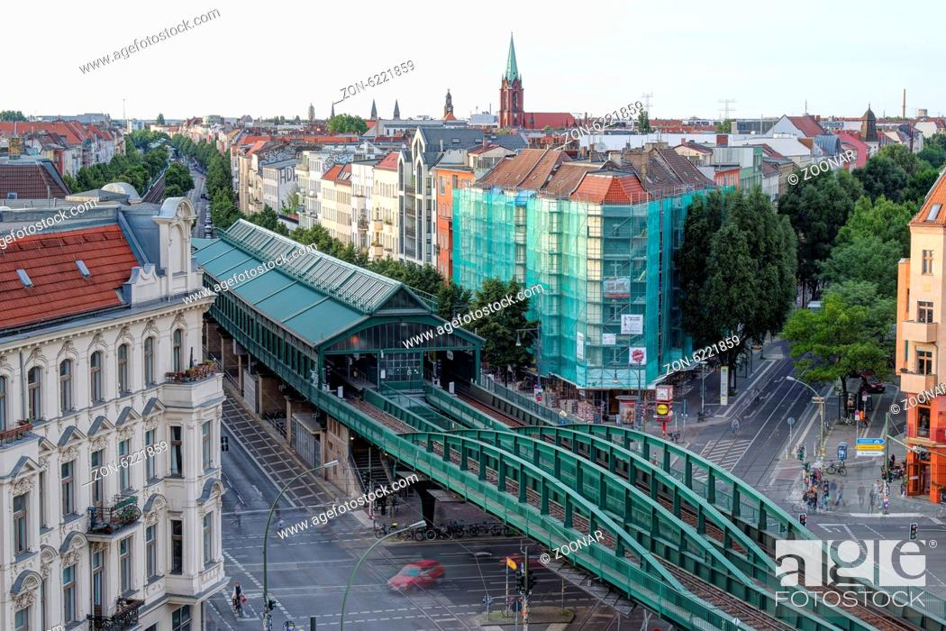 Berlin U Bahn Station Eberswalder Strasse Stock Photo Picture And