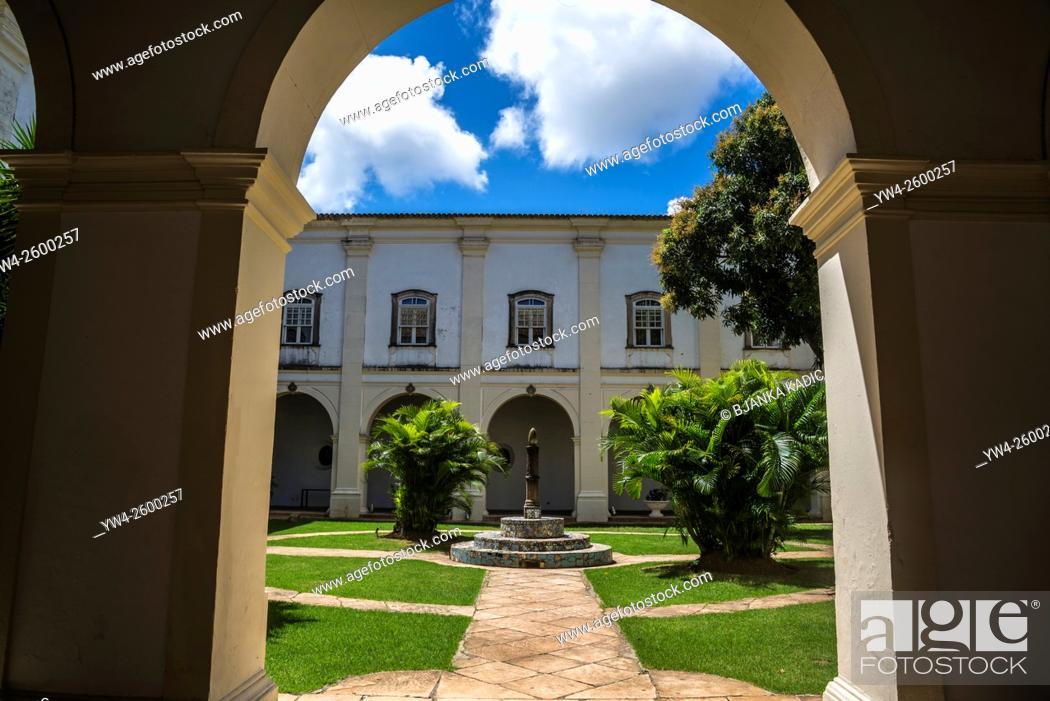 Photo de stock: Pestana Convento do Carmo 5-star Hotel, Salvador, Bahia, Brazil.