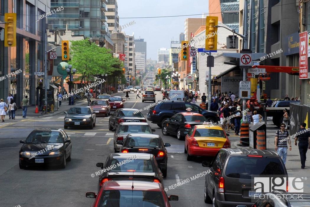 Stock Photo: Downtown Toronto, Canada.