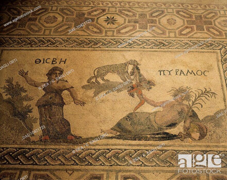 pyramus and thisbe myth