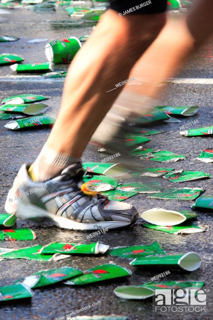 Stock Photo: Marathoner.