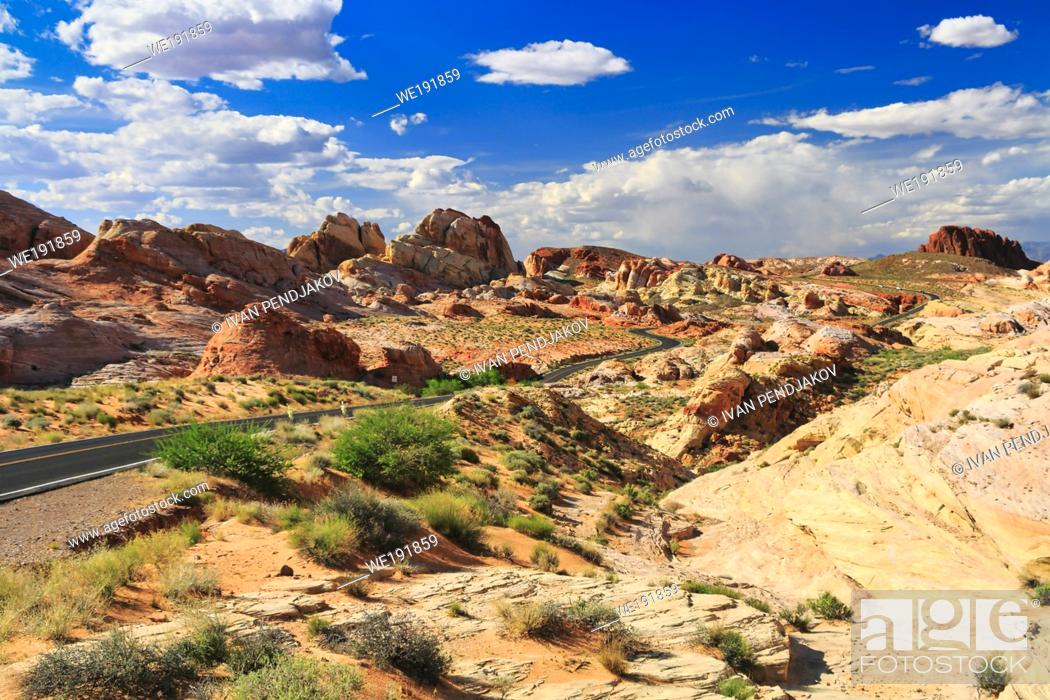 Imagen: Valley of Fire State Park, Nevada, USA.
