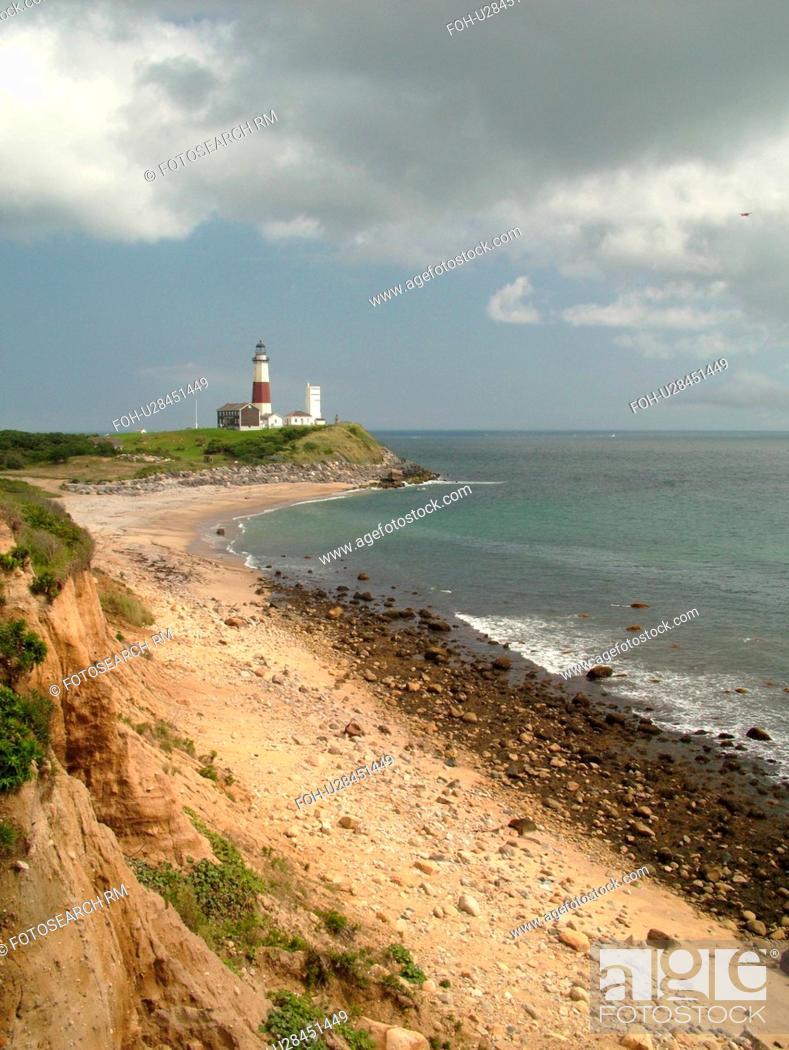 Montauk Ny New York Long Island Atlantic Ocean Montauk Point