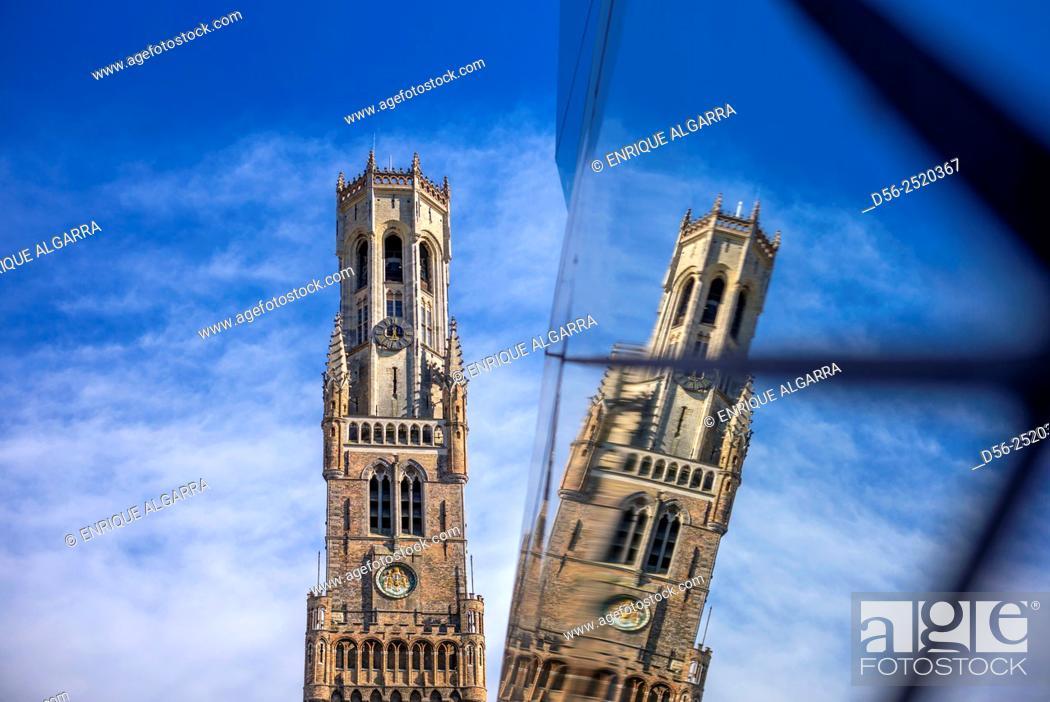 Stock Photo: Triennale, Bruges, Belgium.