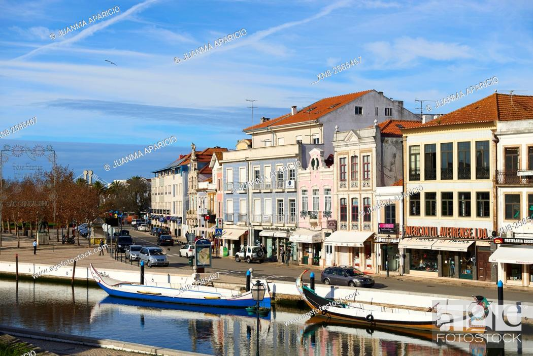 Stock Photo: Aveiro, Portugal, Europe.