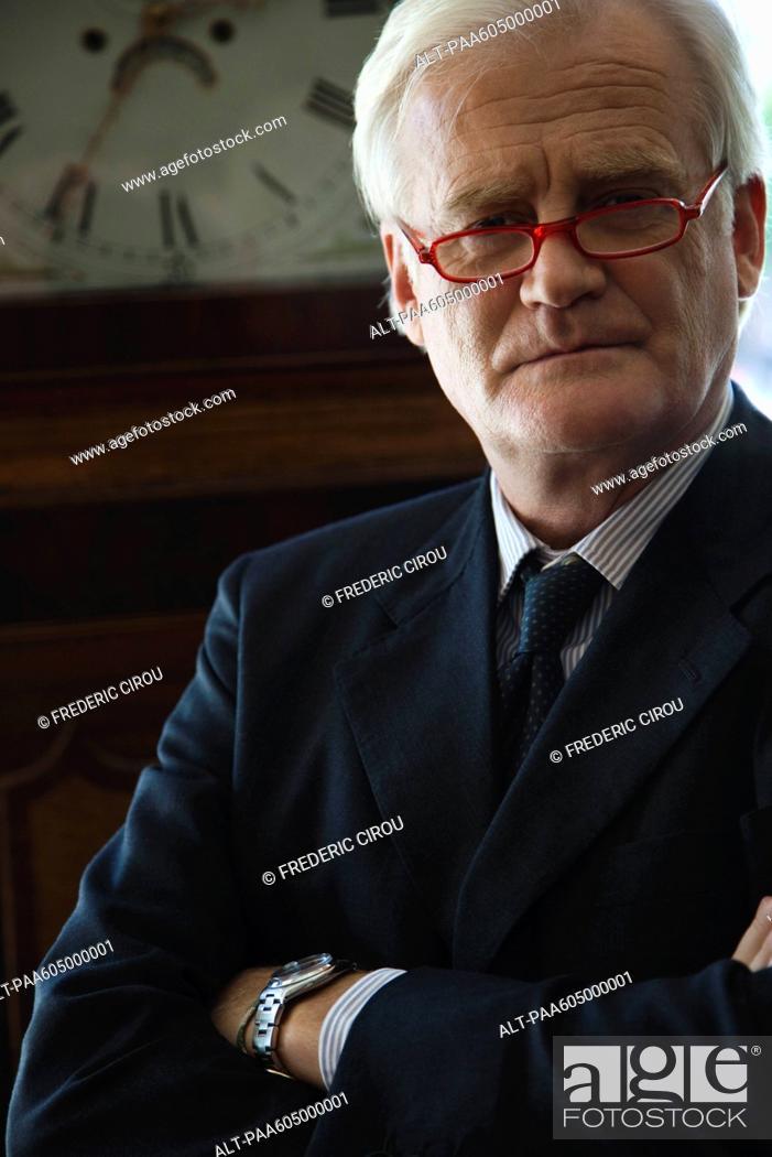 Stock Photo: Executive, portrait.