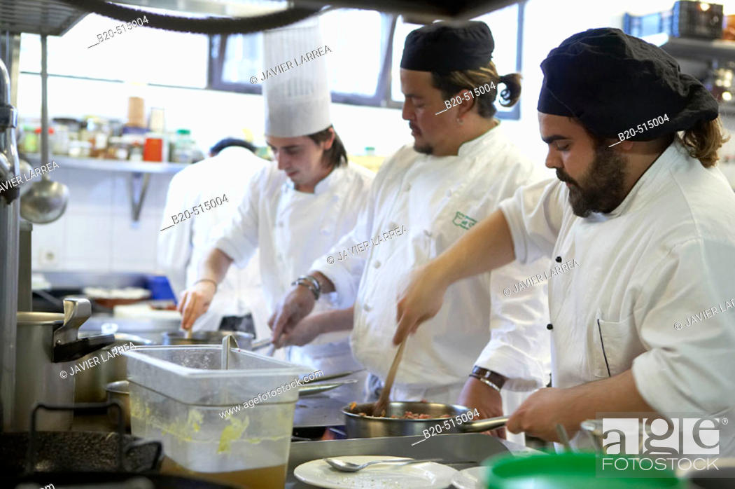 Stock Photo: Cuisine School Luis Irizar. Donostia-San Sebastian, Gipuzkoa. Euskadi. Spain.
