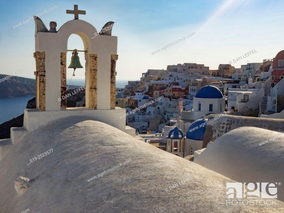 Stock Photo: Oia , Santorini. Greece.