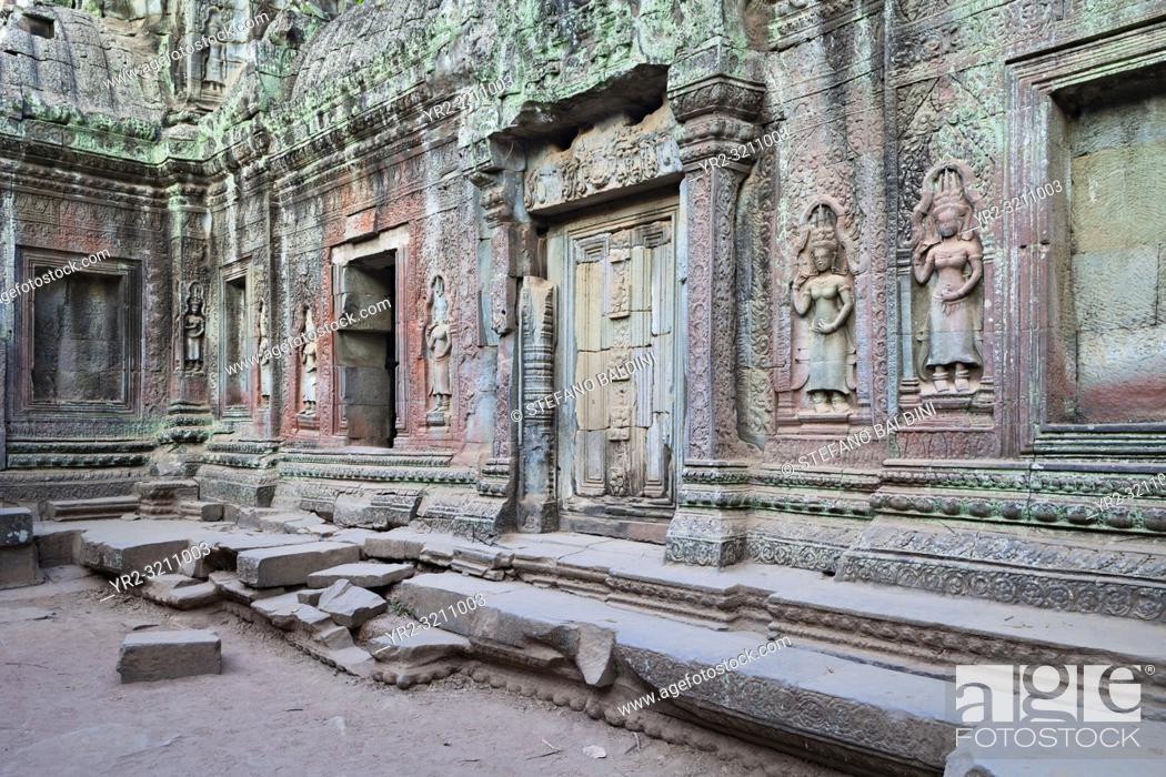 Imagen: Ta Phrom temple, Angkor, Siem Reap, Cambodia.