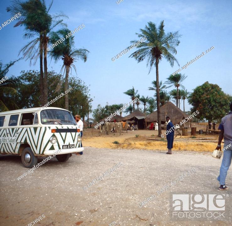Stock Photo: Eine Reise nach Senegal, Westafrika, 1980er Jahre. A trip to Senegal, West Africa, 1980s.