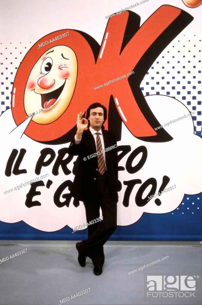 Gigi Sabani advertising the television broadcasting The