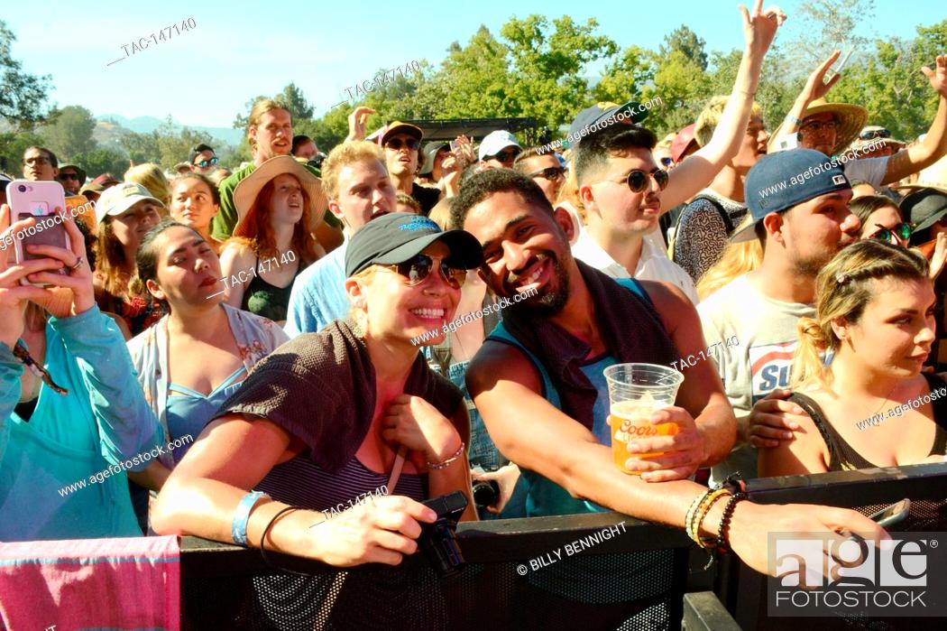 Stock Photo: Atmosphere at the Arroyo Seco Weekend on June 25, 2017 at the Brookside Golf Course in Pasadena, California.